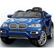 BMW X6 Luxury lakované modré - Dětské elektrické auto