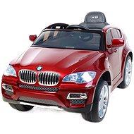 BMW X6 Luxury lakované červené - Dětské elektrické auto