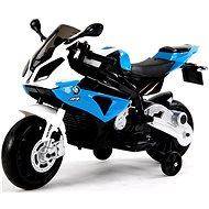BMW S1000 modrá - Dětská elektrická motorka