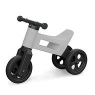 Funny Wheels 2v1 šedá - Odrážedlo