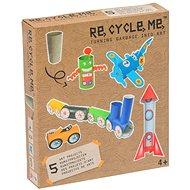Set Re-cycle me pro kluky – rulička - Herní set