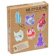 Set Re-cycle me pro holky – PET lahev - Herní set