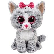 Beanie Boos Kiki - Grey Cat 24 cm - Plyšák