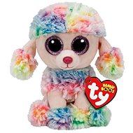 Beanie Boos Rainbow - Multicolor Poodle 24 cm - Plyšák