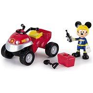 Mikro Trading Mickey Mouse záchranářská čtyřkolka s doplňky - Herní set