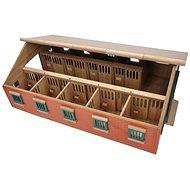 Mikro Trading Kids Globe Stáj pro koně - Dřevěný model