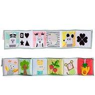 Taf Toys Knížka 3v1 pro nejmenší - Kniha pro děti