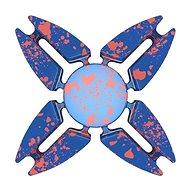 Fidget Spinner hliníkový modrý - Hlavolam
