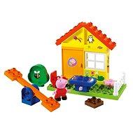 PlayBig Bloxx Prasátko Peppa Zahradní domek - Stavebnice