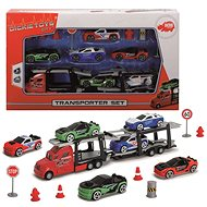 Dickie Autotransportér + 6 autíček - Sada autíček