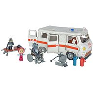 Simba Máša a medvěd Ambulance hrací set - Nábytek pro panenky