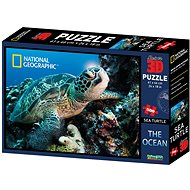 National Geographic 3D Puzzle Želva 500 dílků - Puzzle