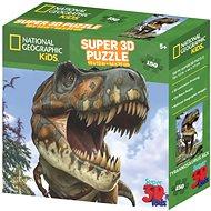 National Geographic 3D Puzzle T-Rex 150 dílků - Puzzle