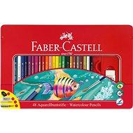 Faber-Castell Pastelky Akvarelové, 48 Barev - Pastelky