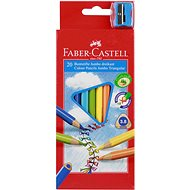 Faber-Castell Coloured Pencils Jumbo, 20 Colours - Coloured Pencils