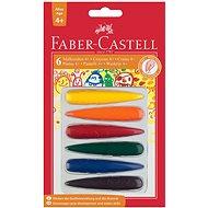 Faber-Castell Plastové Pastelky do dlaně, 6 Barev - Pastelky