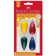 Faber-Castell Plastové Pastelky do dlaně, 4 Barvy - Pastelky