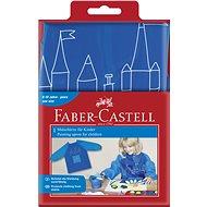 Faber-Castell Zástěra na malování modrá - Dětská zástěra