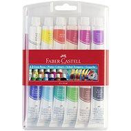 Faber-Castell Temperové Barvy, 12 Barev, 12 Ml - Školní pomůcka