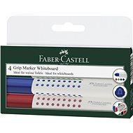 Faber-Castell Grip Marker Whiteboard, 4 ks - Sada kancelářských potřeb
