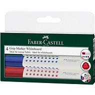 Faber-Castell Grip Marker Whiteboard, 4pcs - Marker