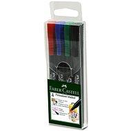 Faber-Castell Slim Multi Purpose Marker, 4pcs - Marker