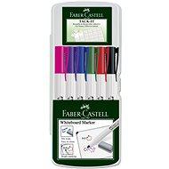 Faber-Castell Slim Whiteboard Marker, 6 ks - Sada kancelářských potřeb