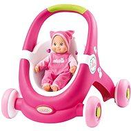 Smoby Minikiss Baby Walker 2v1 - Chodítko