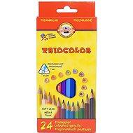 Koh-i-noor Triocolor 7 - Pastelky