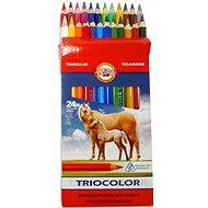 Koh-i-noor Triocolor 9 - Pastelky