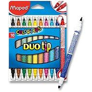 Maped Color Peps Duo Tips, 10 barev - Fixy