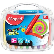 Maped Color Peps Gel, 10 barev - Pastelky