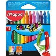 Maped Color Peps Wax, 12 barev - Pastelky