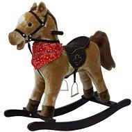 Kůň houpací hnědý světlý - Houpadlo