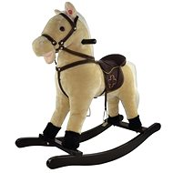 Kůň houpací béžový - Houpadlo