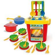 Wader Kuchyň s nádobím  - Kuchyňka