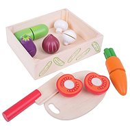 Bigjigs Cutting vegetables, in a box - Game set