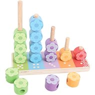 Bigjigs First Flower Stacker - Educational Toy