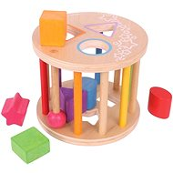 Bigjigs toy - Roller with shapes - Educational toy