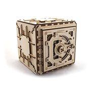 Ugears 3D Mechanický Trezor - Stavebnice
