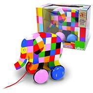 Vilac Barevný slon Elmer - Tahací hračka