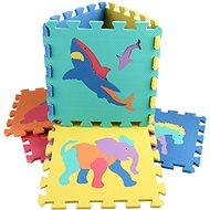 Zvířátka 10 ks - Pěnové puzzle