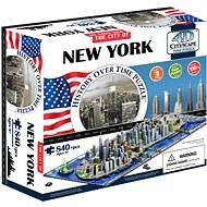 4D Puzzle Cityscape Time panorama New York - Puzzle