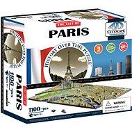 4D Puzzle Cityscape Time panorama Paríž - Puzzle