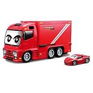 Bburago Ferrari Kids Truck vystřelovací - Herní set