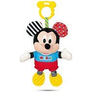 Clementoni Mickey plyšový se zvuky a úchytem - Hračka pro nejmenší