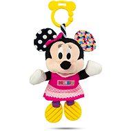 Clementoni Minnie plyšová se zvuky a úchytem - Hračka pro nejmenší