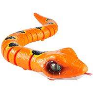 Robo Alive Had - oranžová - Interaktivní hračka