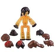 StikBot Figurka s doplňky - vlasy - černý culík - Kreativní sada