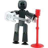 StikBot Figurka s doplňky - šedá kytara - Kreativní sada